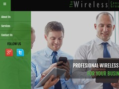WP theme The Wireless Consultant Group