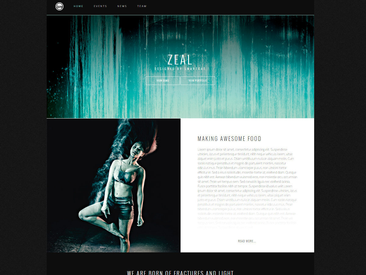 Zeal Pro WordPress theme
