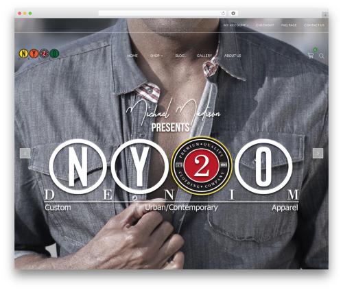 ARW Leka WordPress template - ny2odenim.com