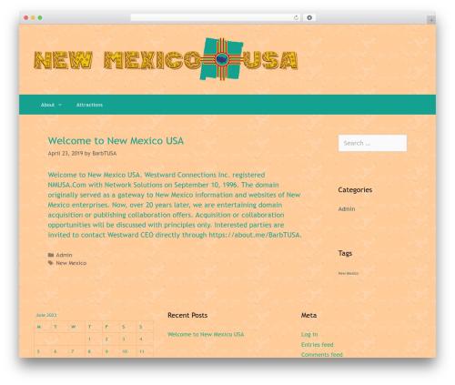 GeneratePress free WP theme - nmusa.com