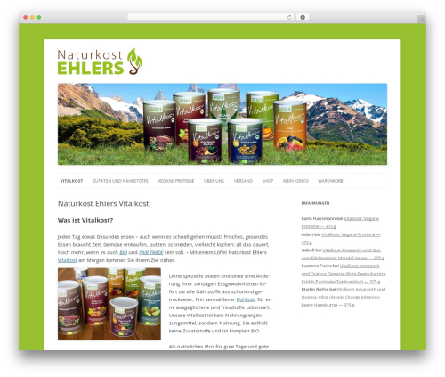 WordPress theme Twenty Twelve - naturkost-ehlers.de