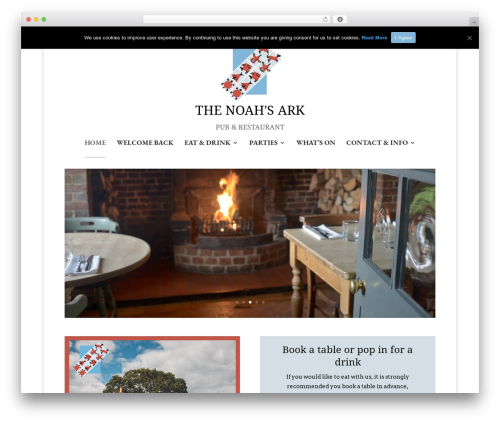 Divi best WordPress template - noahsarkinn.co.uk