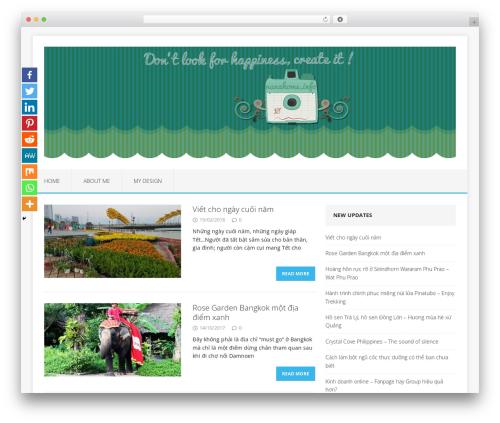 MH Edition lite WordPress theme - nanahome.info