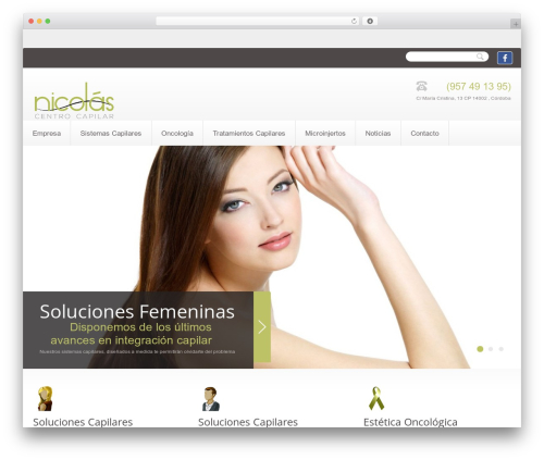 Theme WordPress theme1672 - nicolascentrocapilar.com