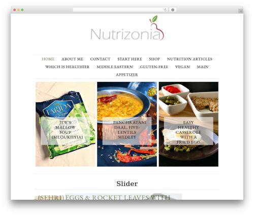 Divine Theme top WordPress theme - nutrizonia.com