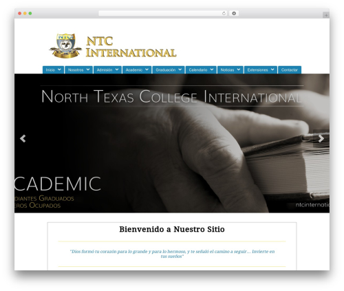 Peacemaker WordPress theme - ntcinternational.org