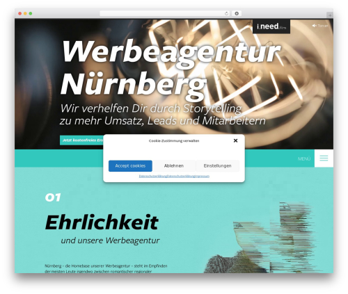 BLANK Theme WordPress video theme - nandodesign.de