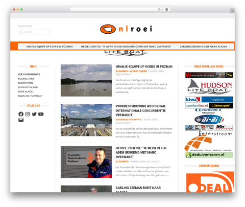 Headline News newspaper WordPress theme - nlroei.nl