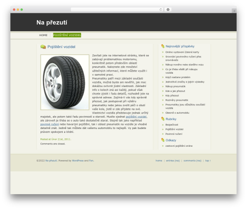 hello :D WordPress template - naprezuti.cz