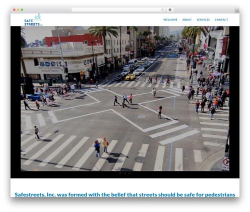 Movedo WordPress page template - safestreets.net