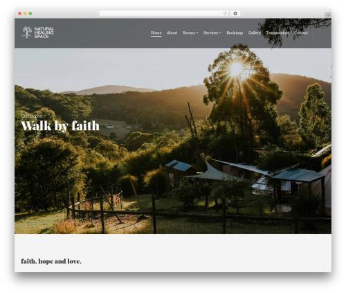 WordPress theme Olympus Inn - naturalhealingspace.com.au