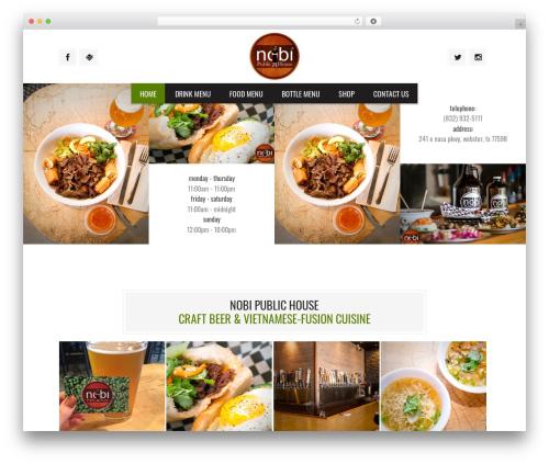 WP theme Grill - nobipub.com