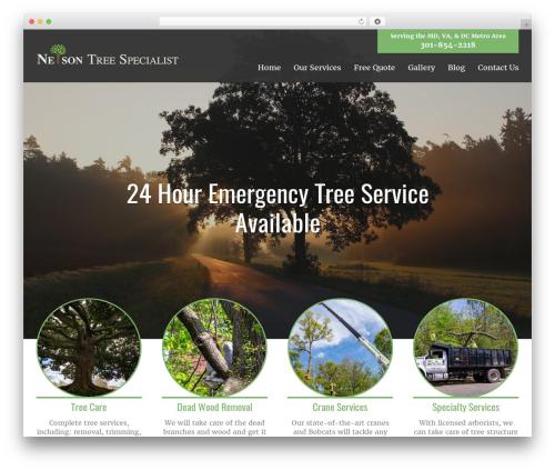 AWI theme WordPress - nelsontreespecialist.com
