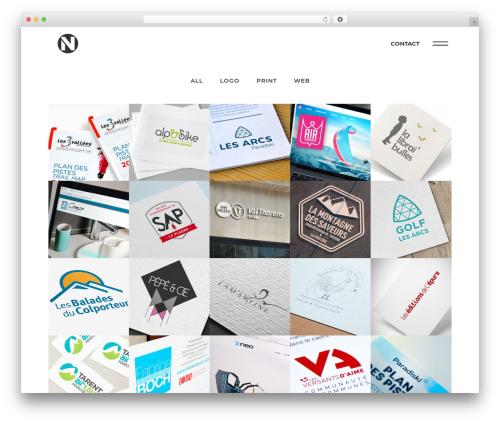 Bridge premium WordPress theme - nanofactory.fr