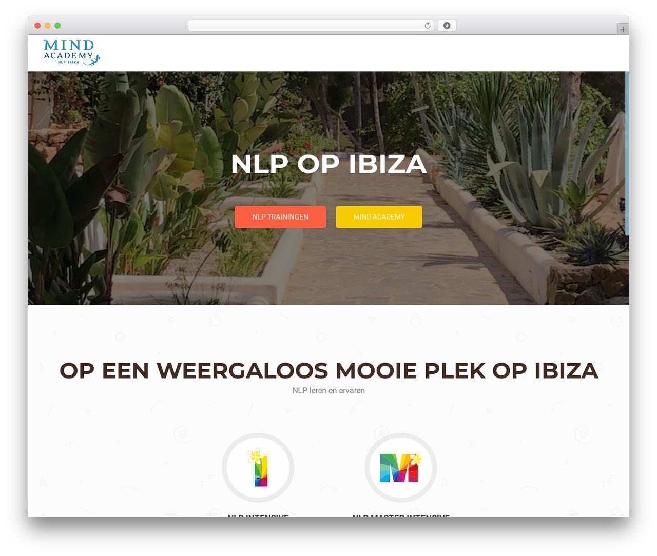OnePirate free WordPress theme - nlp-ibiza.nl
