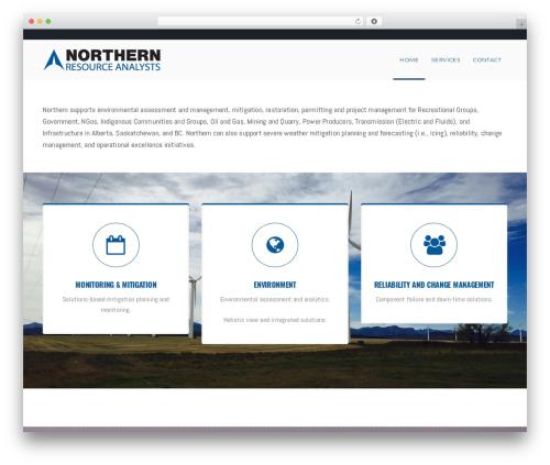 WordPress theme California - northern-resources.ca