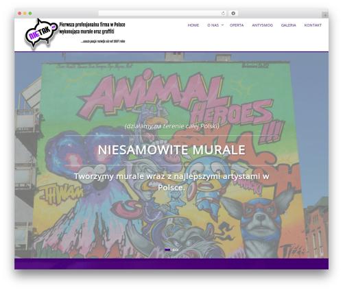 AccessPress Parallax business WordPress theme - nietak.eu