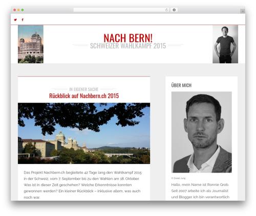 Brixton - Wordpress Theme WordPress theme - nachbern.ch