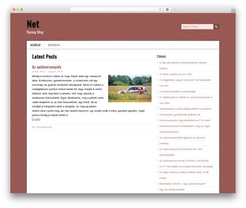 DaisyChain best free WordPress theme - net-racing.hu
