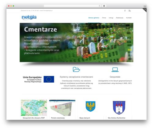 INOVADO WordPress theme design - netgis.pl
