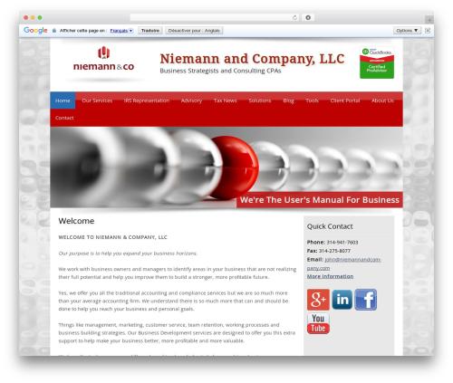 WP template Customized - niemannandcompany.com