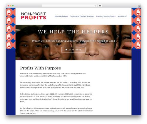 WP template Lightfast - nonprofitprofits.net