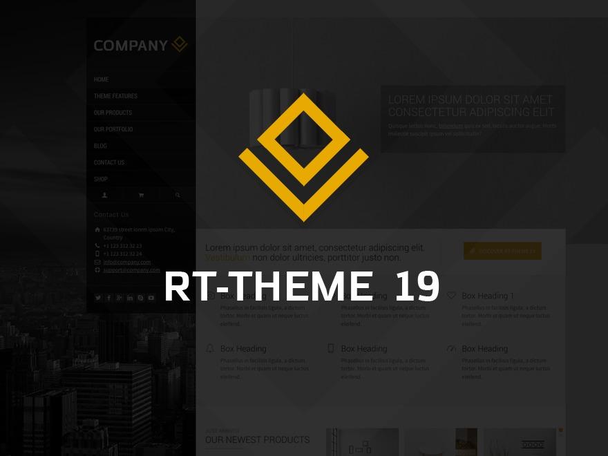 آرتی - تم 19 WordPress website template