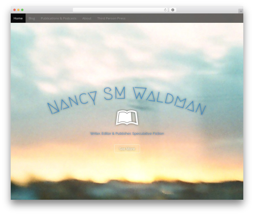 Arcade Basic free WordPress theme - nancysmwaldman.com