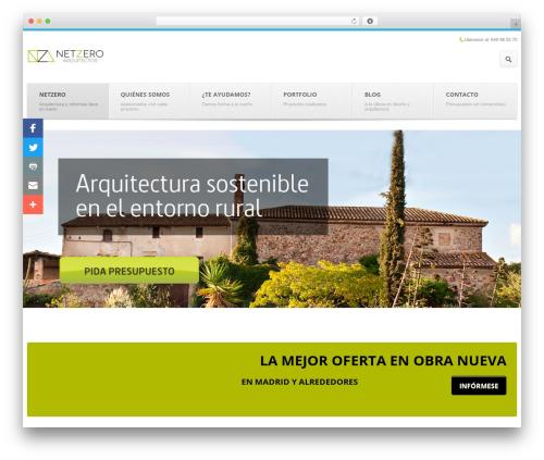 Output | Responsive Multi-Purpose WP Theme premium WordPress theme - netzeroarquitectura.com