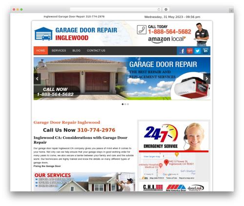 WordPress theme Twenty Thirteen - garagedoorrepairinglewoodcal.com