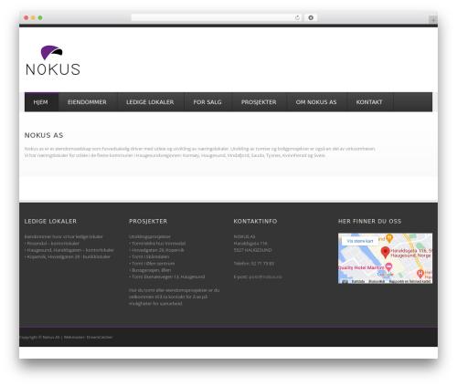 GoodSimple theme WordPress - nokus.net