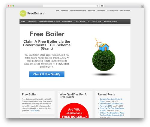 Responsive WordPress template - getfreeboilers.co.uk