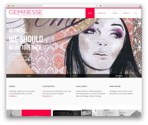 Senna best WordPress theme - geminesse.ca