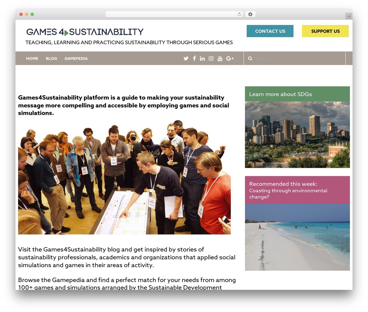 Sydney template WordPress free - games4sustainability.org
