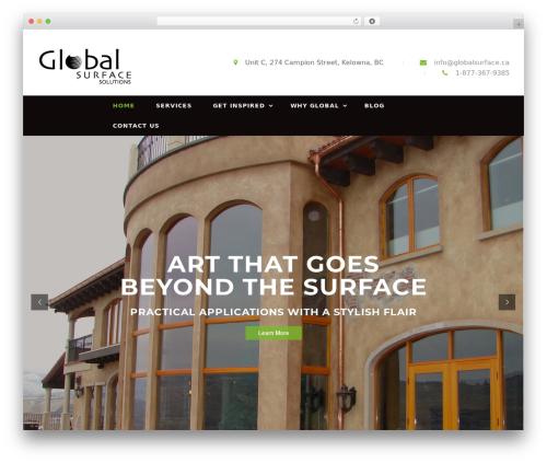 Theme WordPress kitchen - globalsurface.ca
