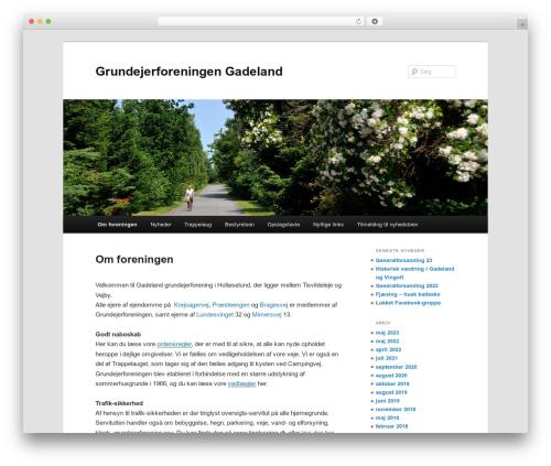 Twenty Eleven template WordPress free - gadeland.dk
