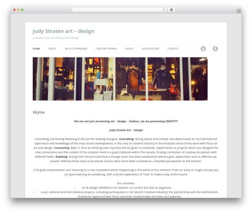 Twenty Twelve WordPress theme download - galeriejudystraten.com