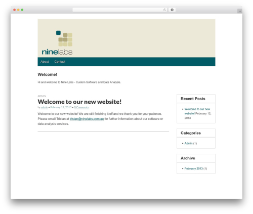 WordPress theme Gridiculous - ninelabs.com.au