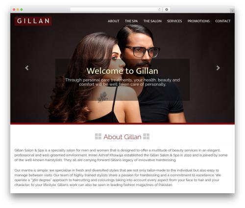 WP theme Gillan - gillan.pk