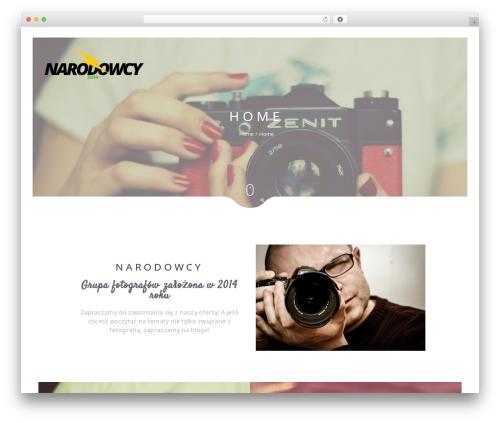 Narcos WordPress theme - narodowcy2014.pl