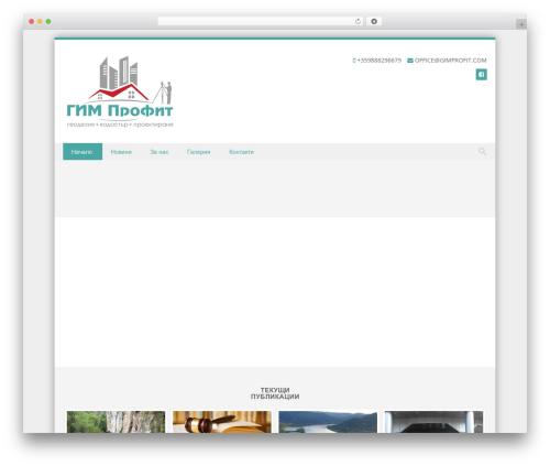 Theme WordPress Discovery - gimprofit.com