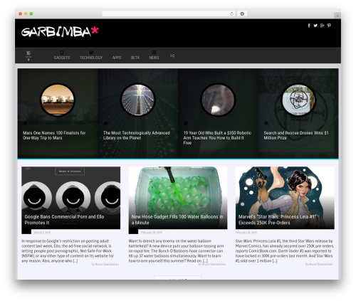 Theme WordPress Explicit - garbimba.com