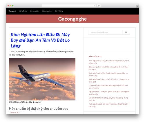 Trope WordPress free download - gacongnghe.com