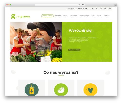 WordPress theme SUNNYJAR - getgreen.pl