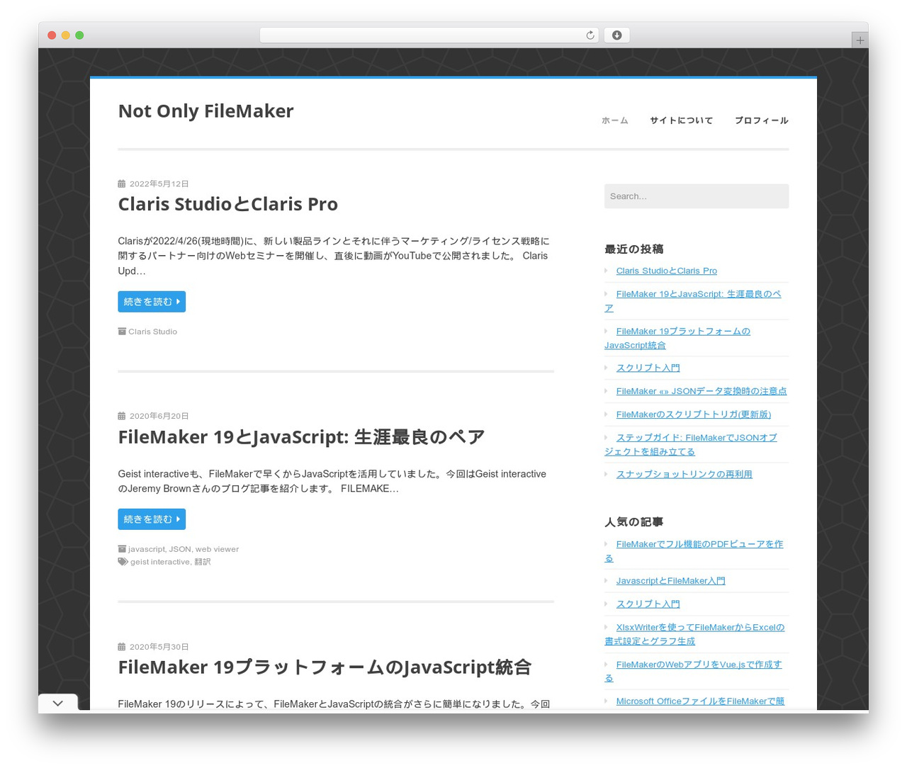 WordPress website template Enterprise Lite by Sean Davis