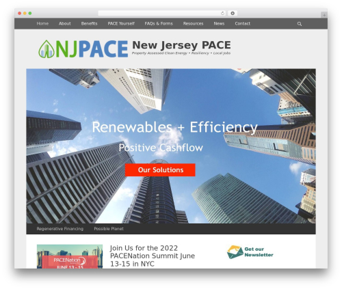 WP template Gridalicious - newjerseypace.org