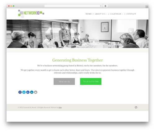 Native Church WordPress template for business - network-10.co.uk
