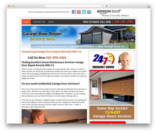 Template WordPress Twenty Thirteen - garagedoorrepairbeverlyhillscal.com