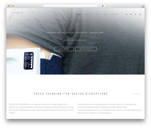 Theme WordPress Rhythm Wordpress Theme - new.groenning.me