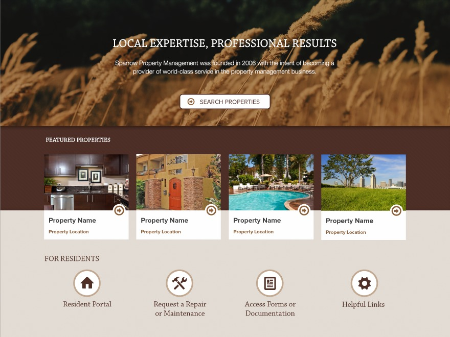 AppFolio MVP Theme WordPress theme